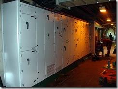 Монтаж фрезерно-брусующей линии R-250 фирмы HewSow. Изготовление монтаж и наладка электропривода транспортера щепы. Реконструкция системы электроснабжения линии.