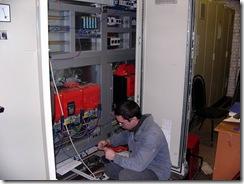 Демонтаж-монтаж системы привода и автоматики линии по производству шпона фирмы «ANGELO CREMONA»